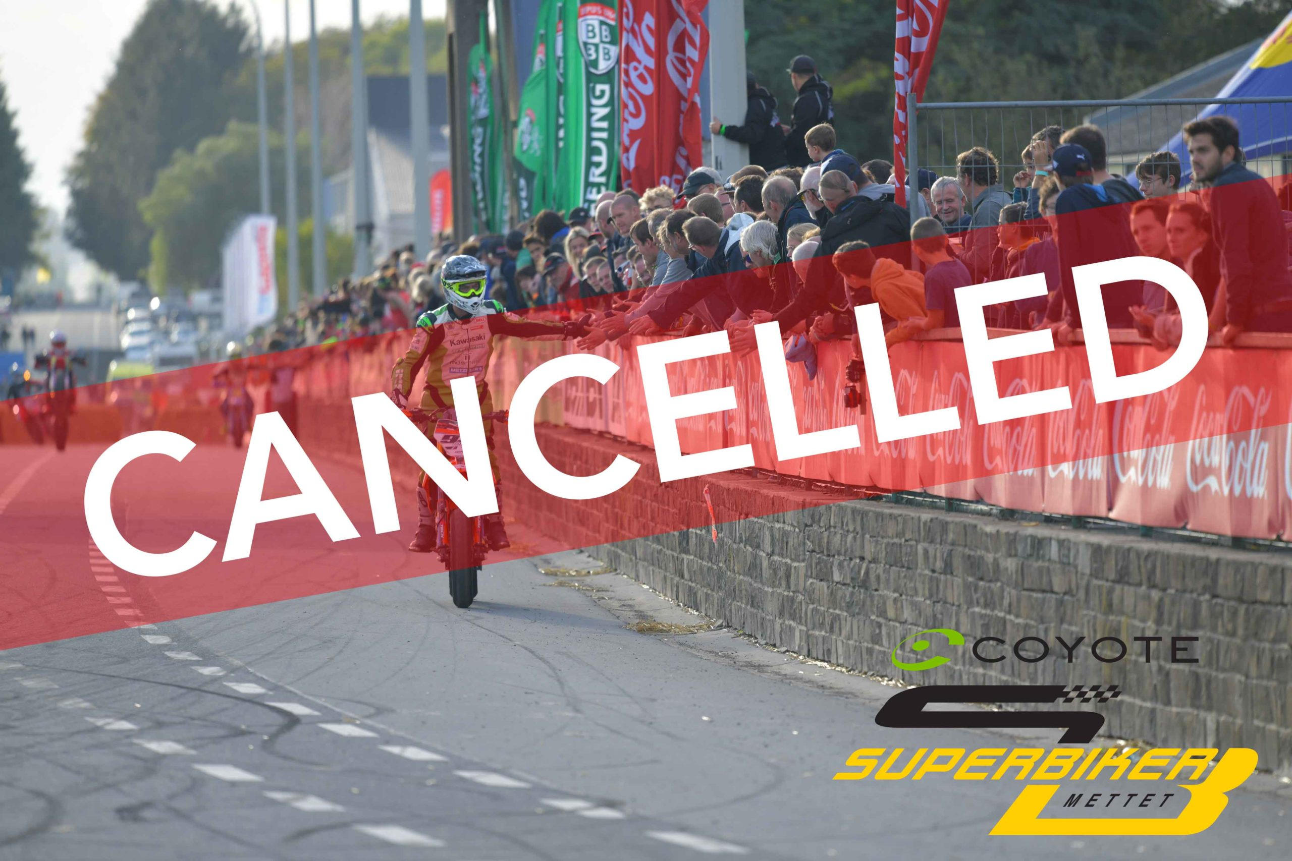Coyote Superbiker 2020 cancelled